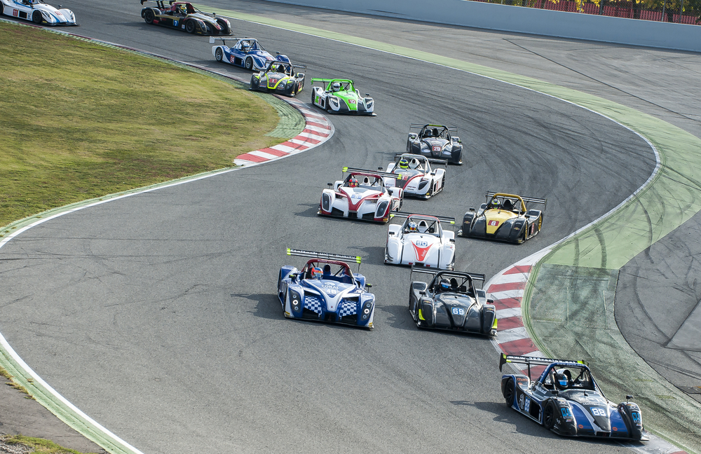 Race track days in our Radical race cars